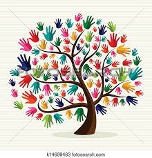 Image result for hand print tree art