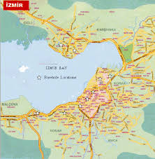 Image result for izmir city map