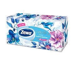 <b>Салфетки косметические</b> Делюкс Дизайн 90 шт. <b>Zewa</b> — купить в ...