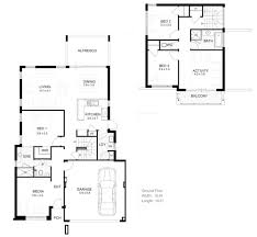 Single Story Narrow Lot House Plans  narrow block floor plans    Single Story Narrow Lot House Plans