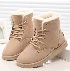 Женские ботинки, теплые зимние ботинки на <b>меху</b>, женская ...
