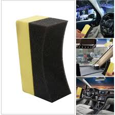 10 Pcs <b>Car Professional Tyre Tire</b> Dressing Applicator Curved Foam ...