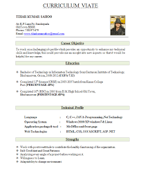 best resume for freshers ersum net fresher resume format for mca