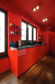 Red Tile Paint For Kitchens Tiles In The Kitchen Wordensnet