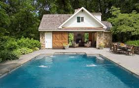 Pool house designs  Outdoor bar areas and Small bars on Pinterest