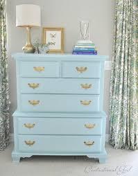 turquoise blue bureau dresser centsational girl painting furniture