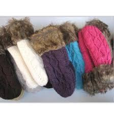 <b>Hot</b> Sale Women's <b>Winter</b> Mitten Kintted <b>Gloves</b> Thick <b>Warm Cute</b> ...