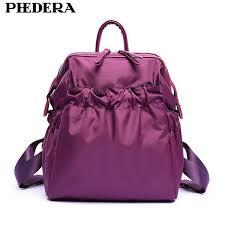 <b>PHEDERA Brand</b> Elegant Fashion Women Backpack <b>High Quality</b> ...