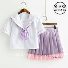 Japanese JK White Without <b>Sailor Suit</b> Plaid Skirt <b>Fashion</b> Elegant ...