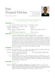 examples of curriculum vitae student resume builder