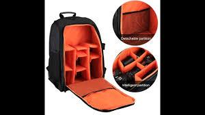 PULUZ <b>Outdoor Portable</b> Waterproof Scratch-proof Dual Shoulders ...