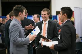 byu s career fairs byu newsletters students networking