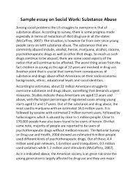 essay on social problemsample essay on social work and substance abuse sample essay on social work  substance abuse