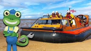 <b>Hovercraft For Kids</b>   Gecko's Real Vehicles   Vehicles <b>For Kids</b> ...
