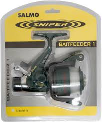 "<b>Катушка</b> безынерционная <b>Salmo</b> ""<b>Sniper BAITFEEDER</b> 1 40BR ..."
