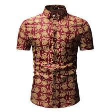 <b>Loldeal</b> Men Flower Printed Dress <b>Shirt</b> Male Summer <b>Shirt Short</b> ...