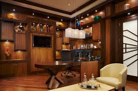 luxury inviting office design modern home. inviting and elegant office with cherry wood panels stylish decorations luxury design modern home r