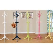 furniture of america colorpop modern youth coat rack alb00715 alba chromy coat