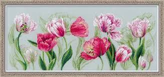 Набор для вышивания «<b>Весенние тюльпаны</b>» (100/052)   Купить ...
