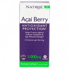 <b>Экстракт ягод асаи</b> Natrol Асайберри 1000 мг 75 капс - интернет ...