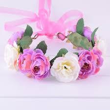 <b>CXADDITIONS</b> Camellia <b>Rose Flower</b> Crown Leafy Fairy <b>Floral</b> ...