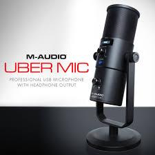 Обзор <b>микрофона M</b>-<b>Audio</b> - <b>Uber Mic</b> | <b>Микрофоны</b> | Обзоры ...