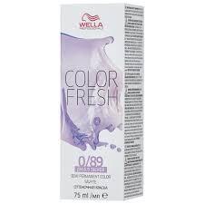 Средство Wella Professionals <b>краска Color Fresh</b> Silver ...