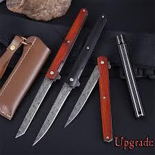 <b>M390</b> Steel <b>Folding</b> Knife CS Go Solid Wood <b>Portable</b> Pocket ...