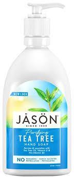 <b>Мыло жидкое</b> JASON <b>Purifying</b> tea tree hand <b>soap</b> — купить по ...