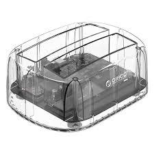 ORICO 6239U3-CR Transparent EU Plug HDD Enclosure Sale ...