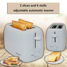 800W <b>2</b> Slices 6-Speed Automatic <b>Toaster Home</b> Sandwich Maker ...