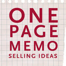 procter gamble one page memo selling ideas the creative the procter gamble one page memo