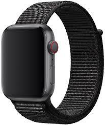 Купить <b>Apple</b> Sport <b>Nylon Band</b> для Watch 44 мм (размер L) black ...