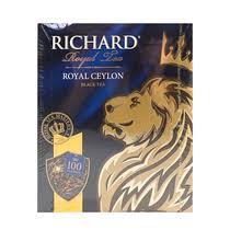 <b>Чай черный Richard</b> Royal Ceylon в пакетиках 2 г 100 шт купить с ...