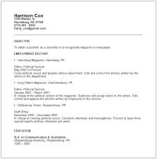 journalist resume templates   uhpy is resume in you example of good resumes journalist resume examples professional