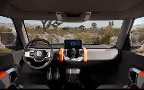 Defender Concept Interior Land 2015 Rover Amazing Design