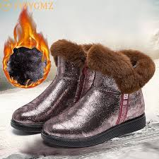 top 9 most popular high <b>snow boots</b> with fur list and get free shipping ...