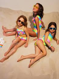 <b>Купальный костюм</b> трикотажный для <b>девочек</b> PlayToday 220222045