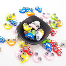 <b>Chenkai</b> 8PCS <b>Silicone</b> Car Beads Baby Cartoon Teething BPA ...