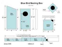 Birdhouse Ideas  Different DIY Birdhouse Plans and Nesting Box    Bluebird Birdhouse Plans