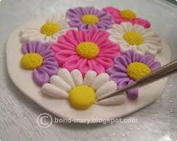 Урок кулон летние цветочки из полимерной глины | Полимерная ...