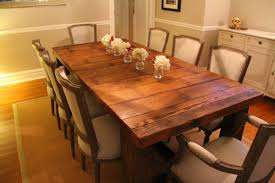 wood dining table diy