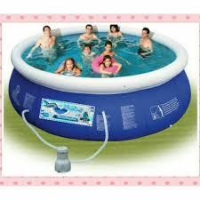 BIG <b>Inflatable</b> Framed Portable Swimming Pool 4 <b>Adults</b> & <b>Kids</b> ...