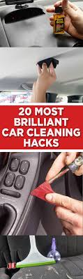 most brilliant car cleaning hacks clutter clutter home clutter living popular pin clutter