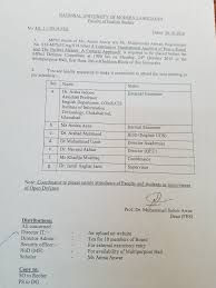 National University of Modern Languages MPhil thesis of Ms  Amna Anwar D O Mr  Muhammad Anwar  Registration No      MPhil Ling S    at      hrs on Monday    thOct