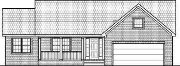 Simple House Floor Plans Bedroom Story   Basement Home Design Bedroom Ranch House plans   Basement Carmel fishers Indiana South Bend Elkhart