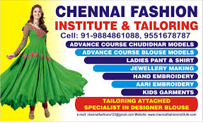stitching classes tailoring and aari embroidery course in chennai