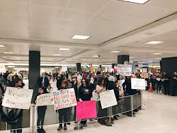 personal archives dysautonothankyou travel ban protest at dulles international airport