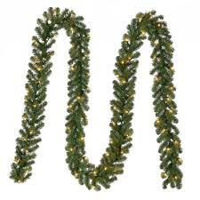 <b>Christmas Garland</b> - Christmas Greenery - The Home Depot