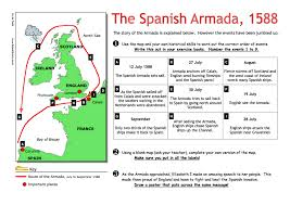 the spanish armada worksheet pdf year  the spanish armada 1588